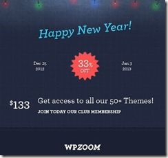 2 bonus themes christmas woprdpress theme discount