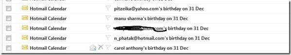 hotmail calendar  error mayan doomsday