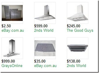 rangehood cleaning and filters  australia